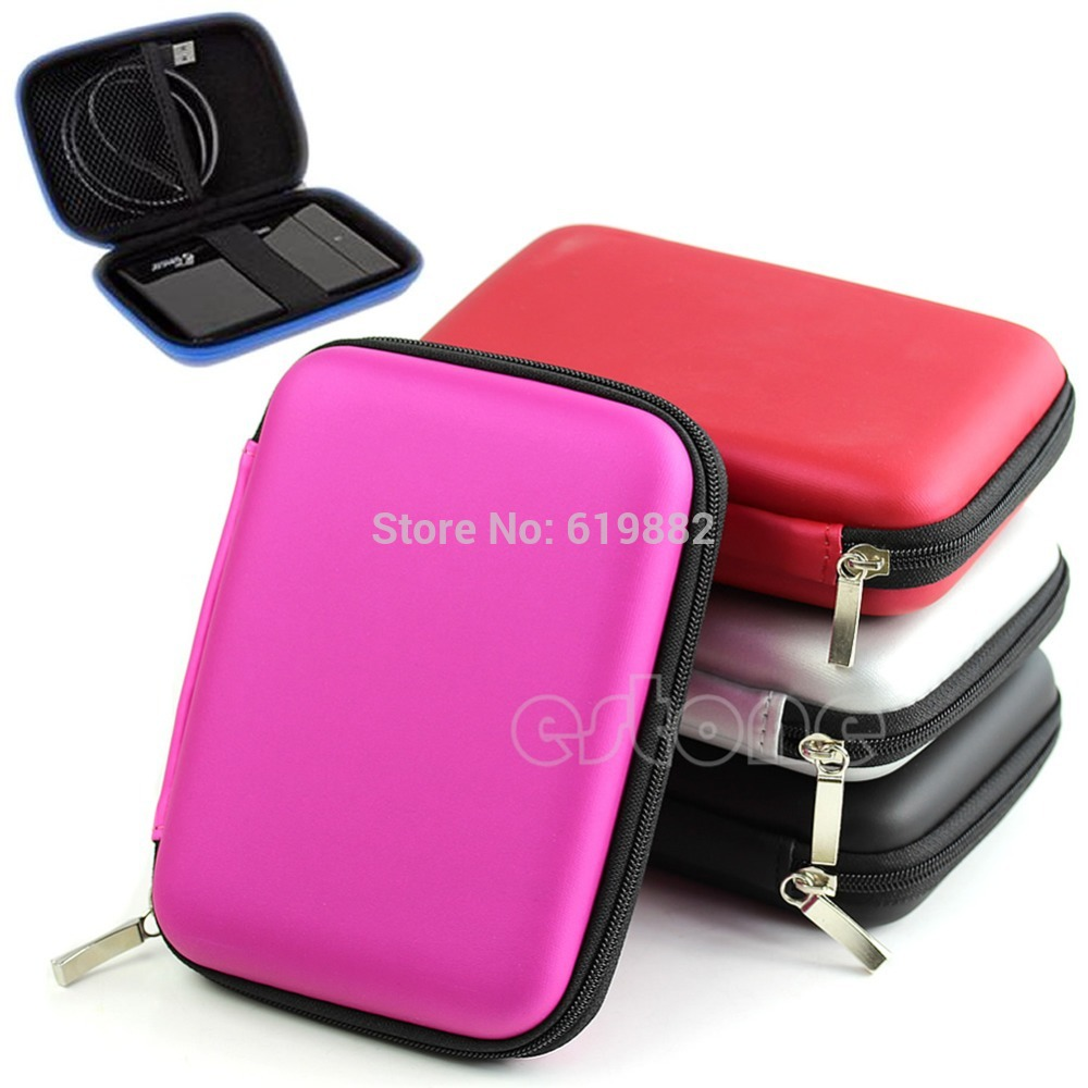 """Free Shipping Hand Carry Case Cover Pouch for 2.5"""" USB External WD HDD Hard Disk Drive Protect(China (Mainland))"""