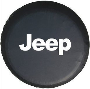 """Spare Tire Cover 0.9mm Thickness Tyre Protector 14"""" 15"""" 16"""" 17"""" inch For Jeep Cherokee Wrangler Commander Compass Patriot(China (Mainland))"""