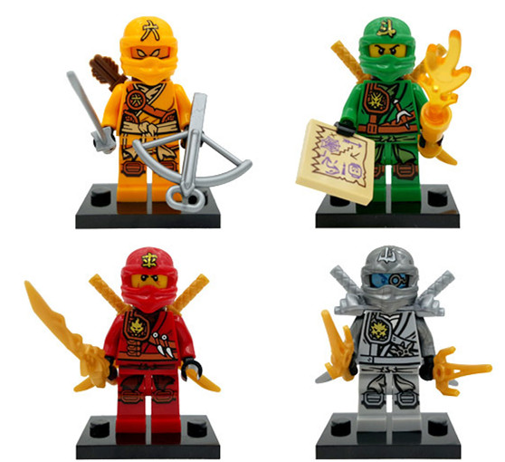 Decool 0077-0085 Super Hero Ninja 9Pcs/lot Minifigures Action Figures The Best Price Toy Compatible with lego(China (Mainland))