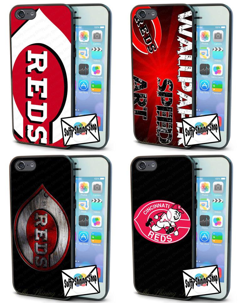 Cincinnati Reds MLB Logo Case For LG G2 3 4 HTC M7 8 9 For IPhone4s 5s 5C 6 Plus Samsung S4 5 6 edge Mini Note 3 4 IPod 5 case(China (Mainland))