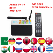 Buy 3GB/32GB CSA93 Android 6.0 TV Box Amlogic S912 Octa Core Cortex-A53 BT4.0 2.4G/5.8G Dual WiFi H.265 4K 1000M Smart Meida Player for $85.99 in AliExpress store