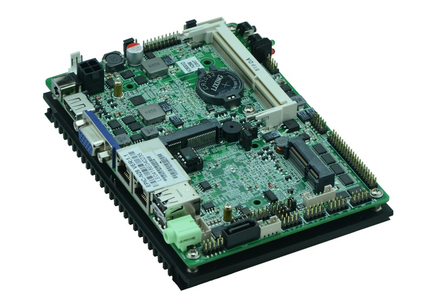 See larger image Fanless Atom N2600 3.5 inch embedded industrial motherboard EPIC-N26 with VGA/LVDS/6*COM/6*USB/SATA /DC12V TDP(China (Mainland))