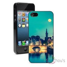Europe at Night Protector back skins mobile cellphone cases for iphone 4/4s 5/5s 5c SE 6/6s plus ipod touch 4/5/6