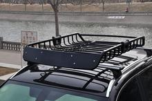 Top Luggage Carrier Basket Traveling Holder Universal Roof Rack Cargo Car Load bearing 200KG Z2CB006(China (Mainland))