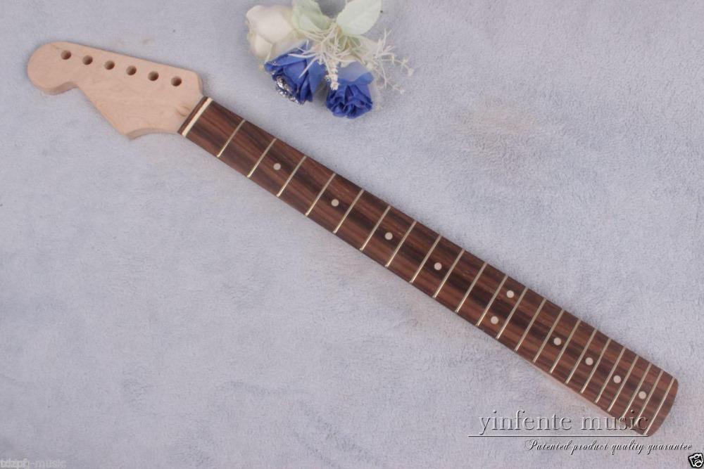 Фотография 1pcs electric guitar neck maple rose wood 22 fret 25.5