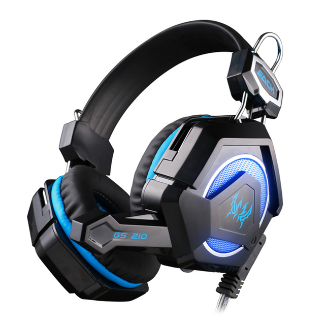 buy each gs210 colorful led pc gaming headphone headset gamer casque audio with. Black Bedroom Furniture Sets. Home Design Ideas