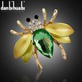 Irregular Fly Mosquitoes Brooch enamel high qualit brooch pins Luxury alloy crystal jewelry brooches for women