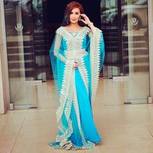 2015 Islamic Muslim Dress Long Sleeve Lace Turkey Hijab Abaya in Dubai Kaftan Dress Beaded Long Abaya Muslim Dress