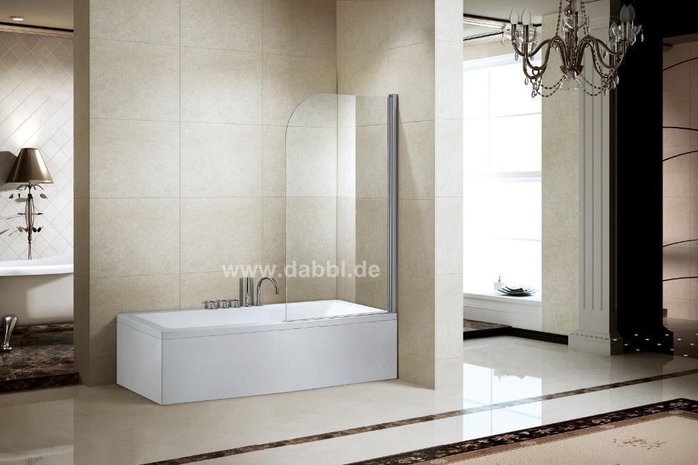 Badkamer Douche Scherm ~ Gloednieuwe bad scherm deur pivot douchewand glas badkamer met douche