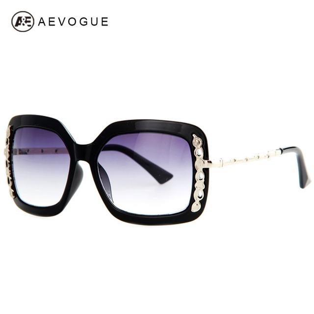 Aevogue марка дизайн винтаж солнцезащитные очки женщин металлический кружевной отделкой солнцезащитные очки унисекс мужчины солнцезащитные очки óculos UV400 AE0225