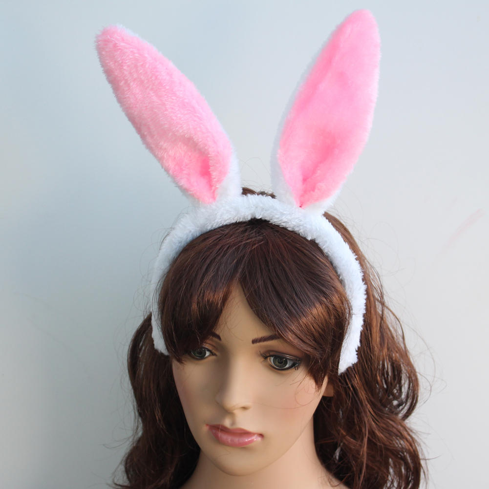 Halloween Hair Accessories Dress Up Cute Animal Rabbit Ears Designed Headband for Party Easter Costume Cosplay(China (Mainland))