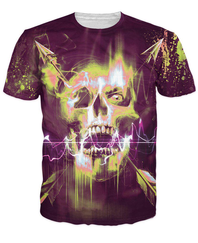 Compra tshirt women neon color online al por mayor de for Neon colored t shirts wholesale