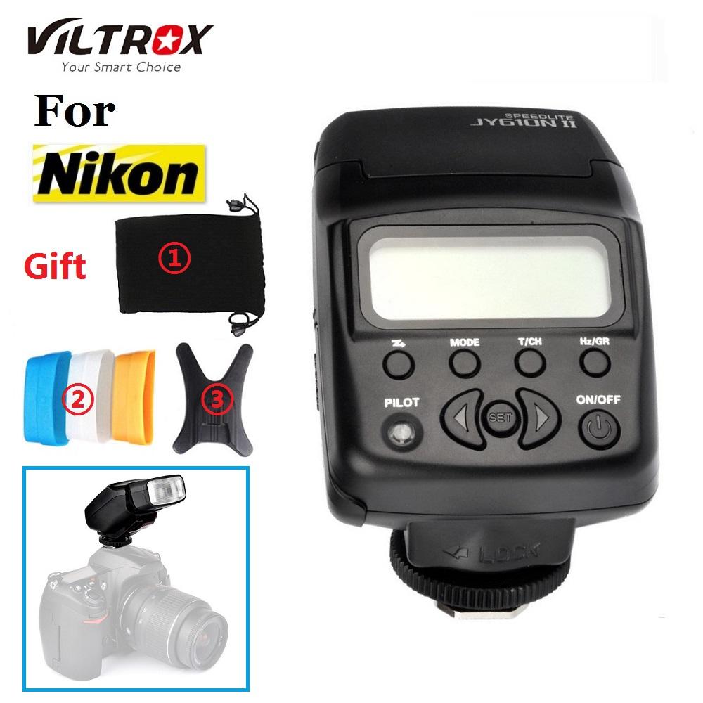 Viltrox JY-610N i-TTL Photography light On-camera Mini Flash Speedlite for Nikon D3300 D5300 D7100 Camera<br><br>Aliexpress