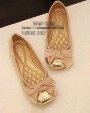 hot sales shoes women 2013 Europe Style New Fashion Lady Flat Shoes Women's flat Shoes with bowtie Size 35-41 Free shipping(China (Mainland))