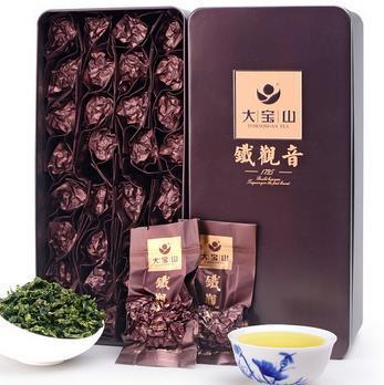 Free shipping Spring Organic TiKuanYin Wu Long Tea Chineses Tea AnXi Tie Guan Yin Tea Milk Oolong Tea Best bags Gift Box bolsa(China (Mainland))