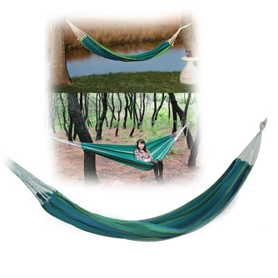 Гаджет  Canvas/Nylon fabric Material 220cm Travel Outdoor Camping Leisure Striped Thick Canvas Hammock Single Person None Мебель