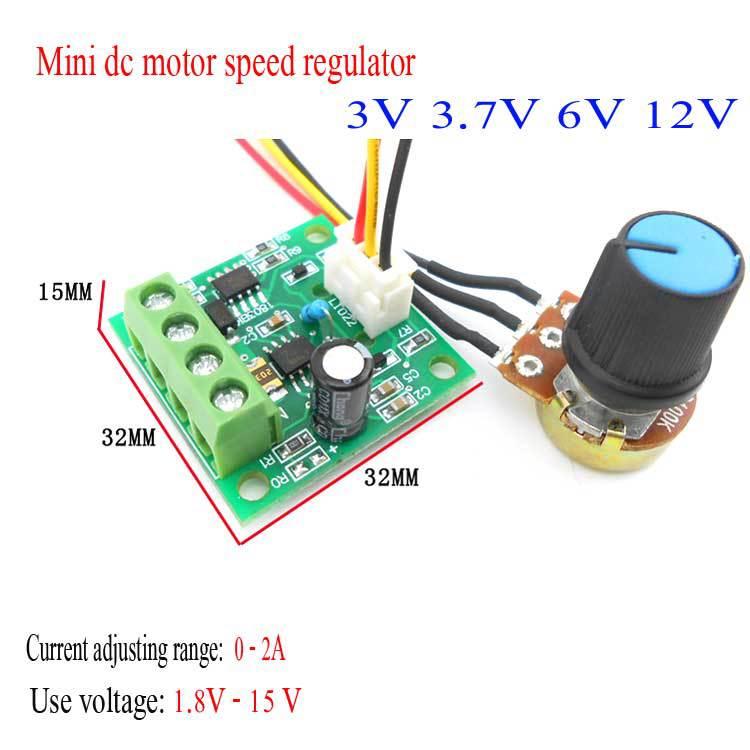 Dc 3v 6v 12v motor drive module 1 8v 15v power inverter for 12v servo motor controller
