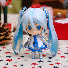 Buy Hatsune Miku Sakura Snow Miku Action Figure 1/10 scale painted figure 97# Cute Snow Miku Doll PVC ACGN figure Brinquedos Anime for $17.49 in AliExpress store