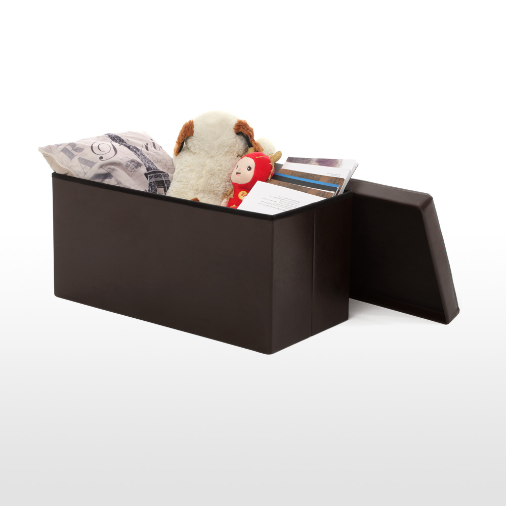Lujoso Almacenamiento Barato Muebles Banco Otomana Inspiración ...