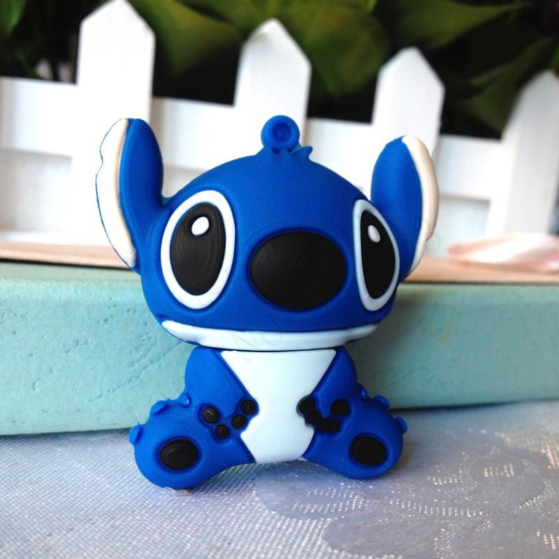Wholesale Pen Drive Cartoon blue bird Animal Gift 4GB 8GB 16GB 32GB 64GB OX Usb Flash Drive Pendrive Free Shipping()