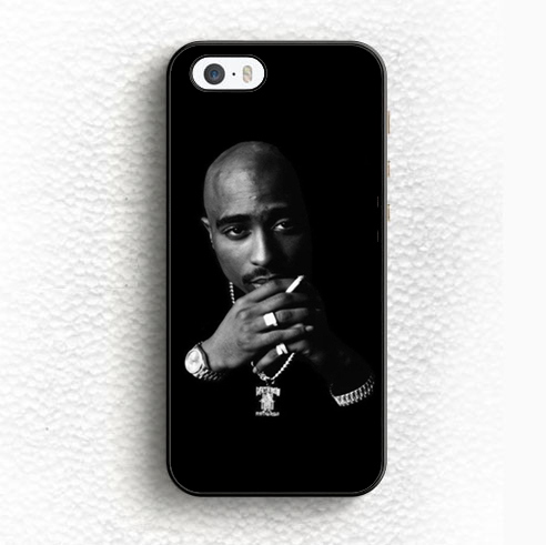 Tupac Shakur Famous Music Rap Hip Hop Soft TPU OEM Mobile Phone Cases For iPhone 6 6S Plus 5 5S 5C SE 4 4S Back Shell Case Cover(China (Mainland))