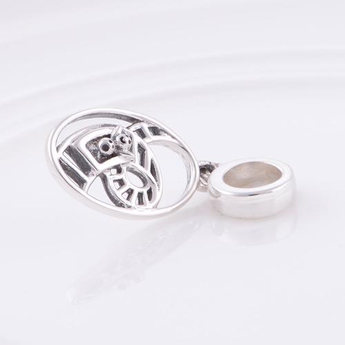 Аутентичные стерлингового серебра 925 бусины горки европейский шарм женщины ювелирные изделия DIY подходит Chamilia браслет бесплатная доставка