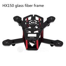 DIY FPV mni racing drones HX150 quadcopter glass fiber frame 68g High speed unassembled