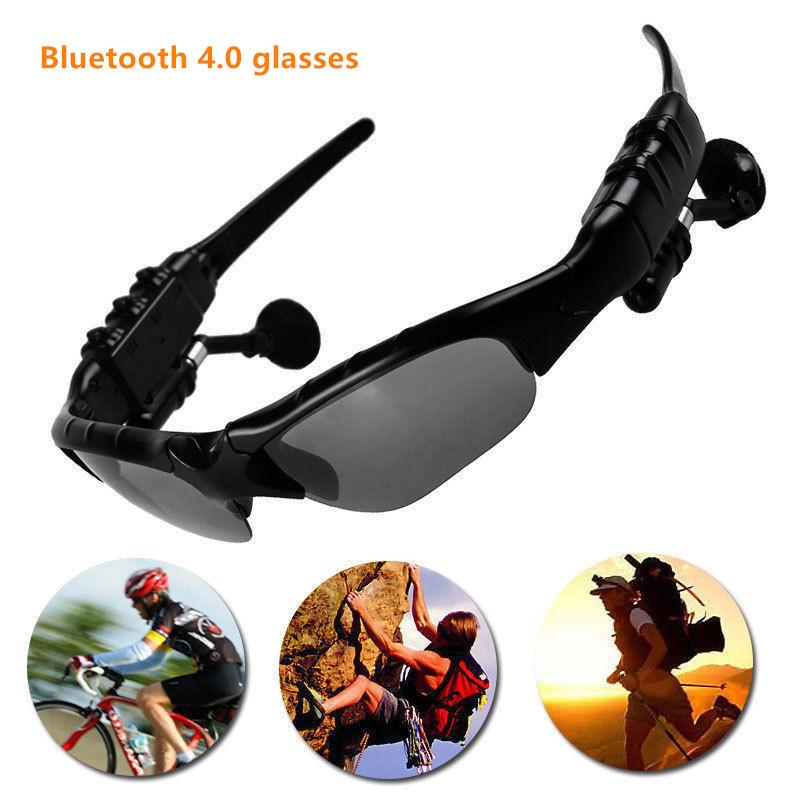 Enumerado conductor Gafas de Sol BlueTooth auriculares de oído para el teléfono conveniente para los deportes