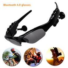 Enumerado conductor Gafas de Sol BlueTooth auriculares de oído para el teléfono, conveniente para los deportes al aire libre, senderismo, de conducción, el uso de viaje.