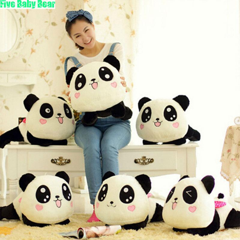 Stuffed Plush Animals Toys Papa Bear Panda Plush Toy Doll Wedding Valentine Day Gift Kids Toys Brinquedos Pandas Juguetes Kawaii(China (Mainland))