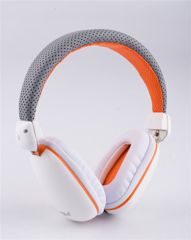 High Quality Wired Stereo Headphones EP10 Soft Leather Earphone Handsfree Headband Built in Mic for Phone