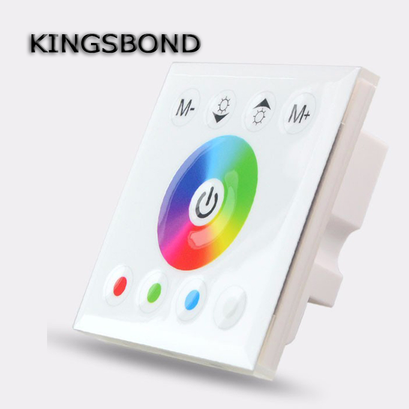 DC12-24V 4 channels 16A full color touch panel RGBW controller for rgb led rigid bar strip 5050 light bulb<br><br>Aliexpress