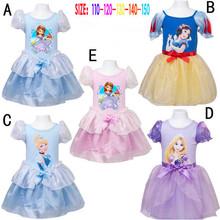 Fairy Party Costume Princess Sofia Snow White Rapunzel Cinderella Cosplay Dress Tutu Clothes Clothing