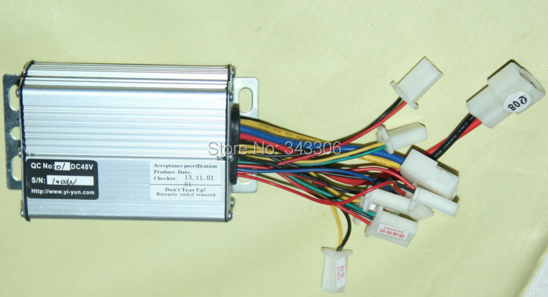Wiring diagram 48v 1000w electric bicycle electric bicycle for 48v dc motor speed controller circuit