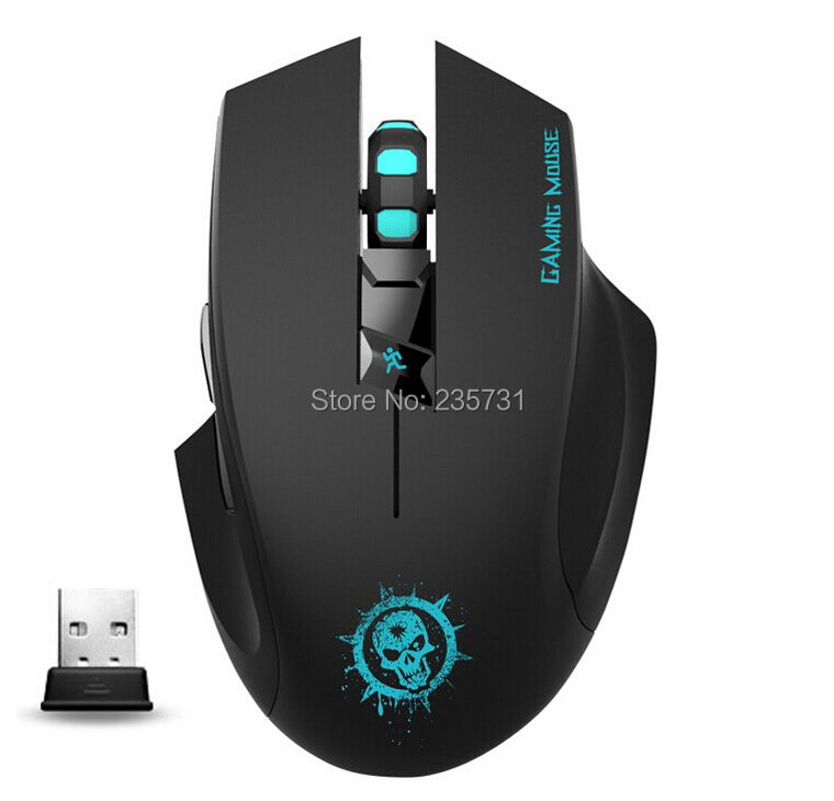 Original Brand Professional Gaming Mouse Black 6D 2.4G Wirless Mouse Backlite Mouse Gamer(China (Mainland))