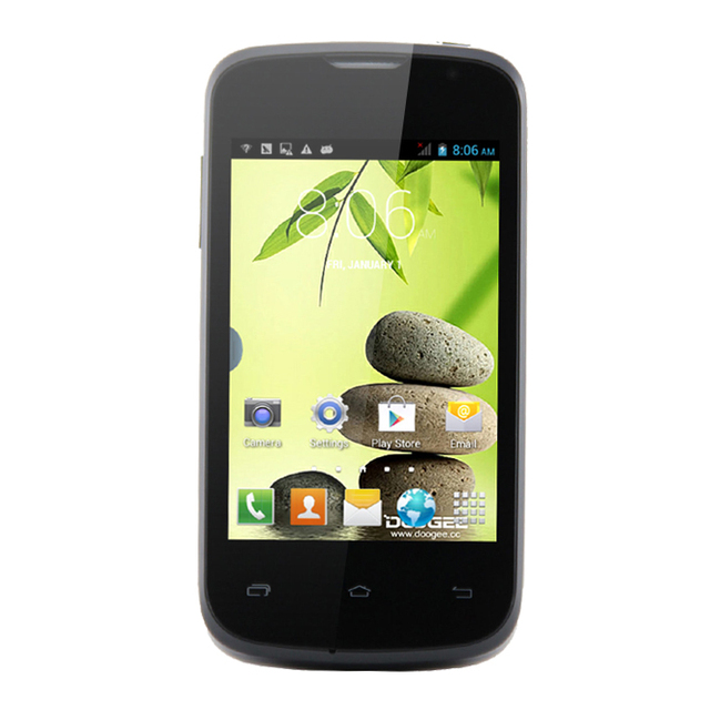 Cheapest MTK6572 Doogee Collo 2 DG120 Black 3000mAh battery  1.3GHz 3.5inch HVGA Screen  GPS 3G Wifi Dual Sim