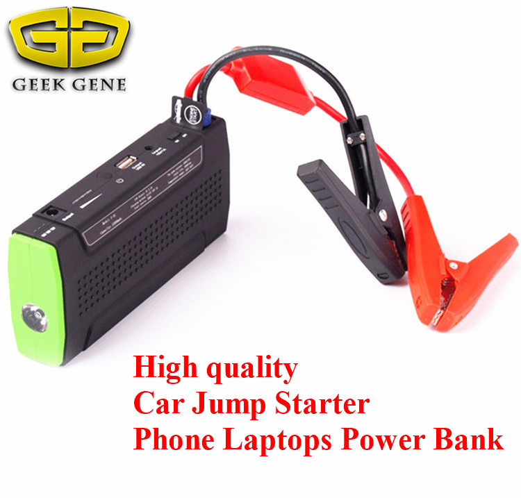 Car Jump Starter 9900mAh Charger for Electronics Mobile Device Laptop Auto Engine Emergency Battery Booster SOS light Free ship(China (Mainland))