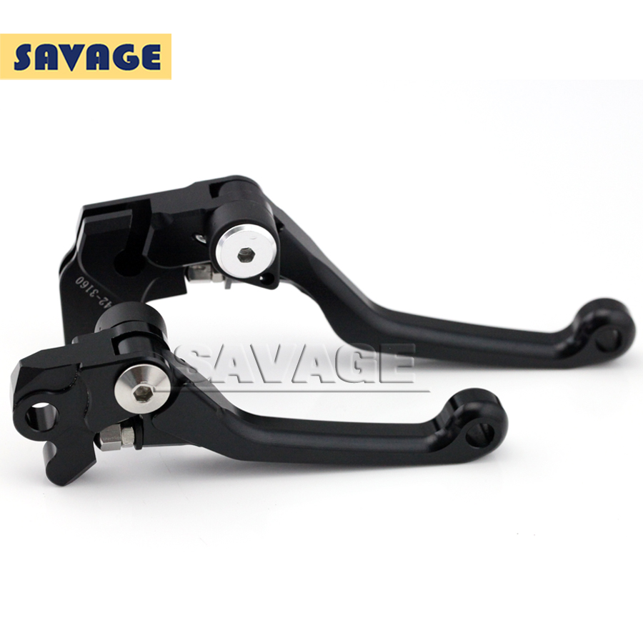 CNC Pivot Brake Clutch Levers For YAMAHA YZ 80/85 2001-2012 Black Motorcycle accessories<br><br>Aliexpress