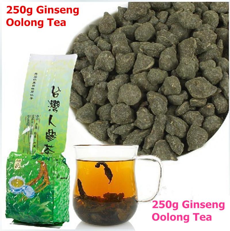 [GREENFIELD] Ginseng tea 250g Sweet * Premium Organic Taiwan Green Ginseng Oolong Renshen Taiwan Lan Gui Ren gingseng tea 250g(China (Mainland))