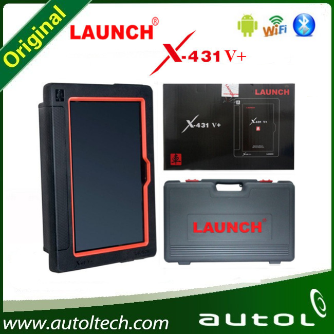 Launch X431 PAD Original Launch X431 V+ Tablet Diagnostic Scanner For Online Update Bluetooth/ Wifi Launch X431 V  Plus<br><br>Aliexpress
