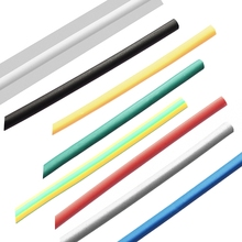 Best Promotion 1M 4.0mm 7 Color 2:1 Polyolefin Heat Shrink Tubing Tube Sleeve Sleeving Wrap Lowest Price