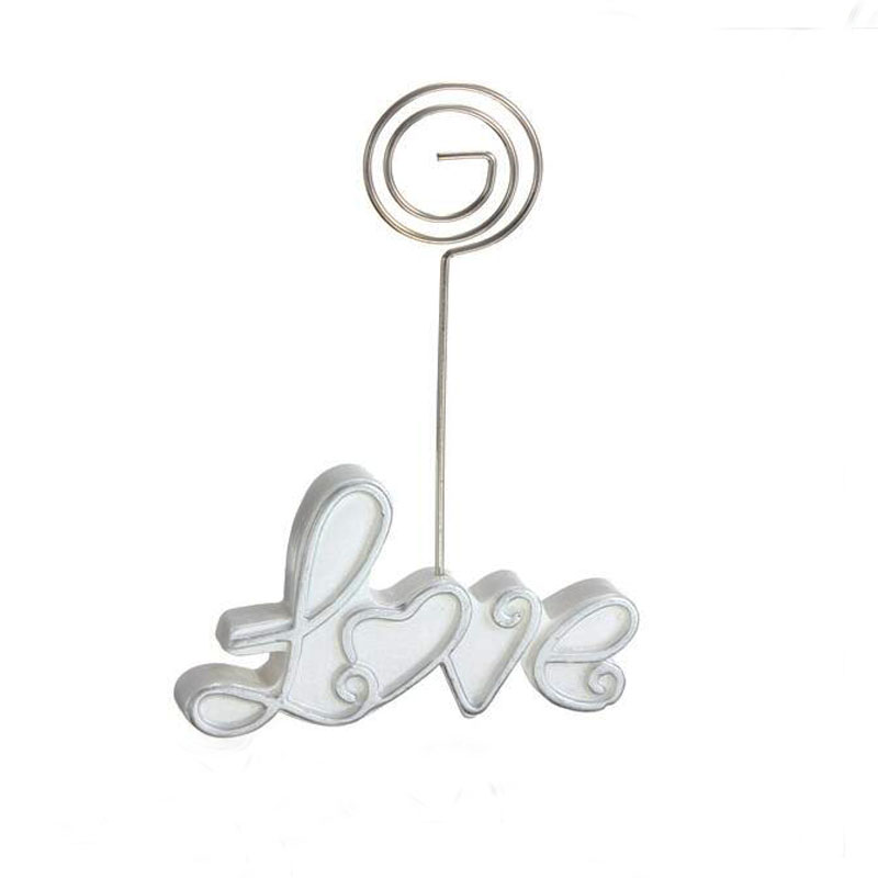 1 Pc Resin Creative Exquisite LOVE Wedding Guest Table Number Cards Clip Festive Party Seating Place Product Tools Accessories(China (Mainland))