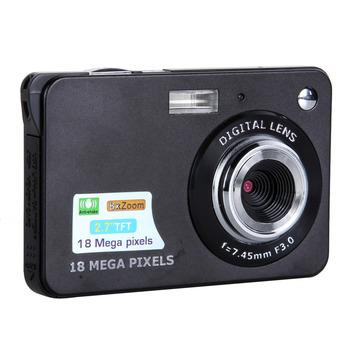 "Free Shipping High Quality 18MP 2.7"" TFT LCD DV 8X Digital Zoom HD 1280x720 Digital Camcorder Camera"