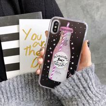 Liquid Water Case Soft Silicone Cover for Huawei P30 Pro P20 Lite P Smart Plus 2019 Mate 20 Cases Unicorn Perfume Bottle Whale(China)