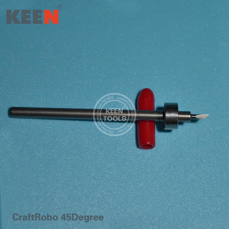 Wishblade Vinyl cutter Wishblade Silhouette Cameo Craft Robo Cutting Plotter Blades 45 Degree CraftRobo(China (Mainland))