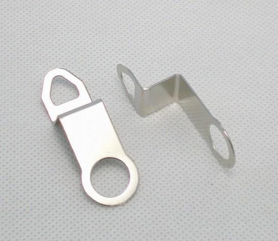 Newest!! Quartz Clock Movement Kit Spindle Mechanism metal HANGER HOOK 2pcs free shipping(China (Mainland))