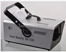 1500w snow machine Wedding snow machine for stage effect light(China (Mainland))