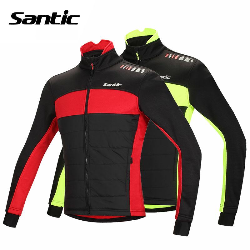 Santic Mens Fleece Winter Thermal Fleece Cycling Windproof  Warmer Jacket Casual Outdoor Sports Coat Bike Bicycle Jersey 1059<br><br>Aliexpress