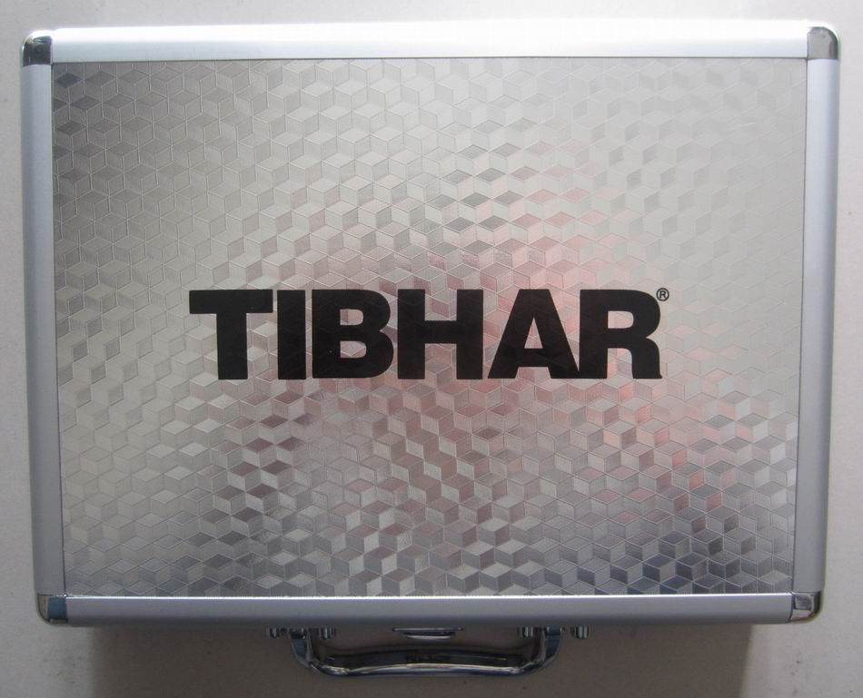 Original Tibhar high quality table tennis case aluminum alloy suitcase table tennis racket and table tennis ball racquet sports(China (Mainland))