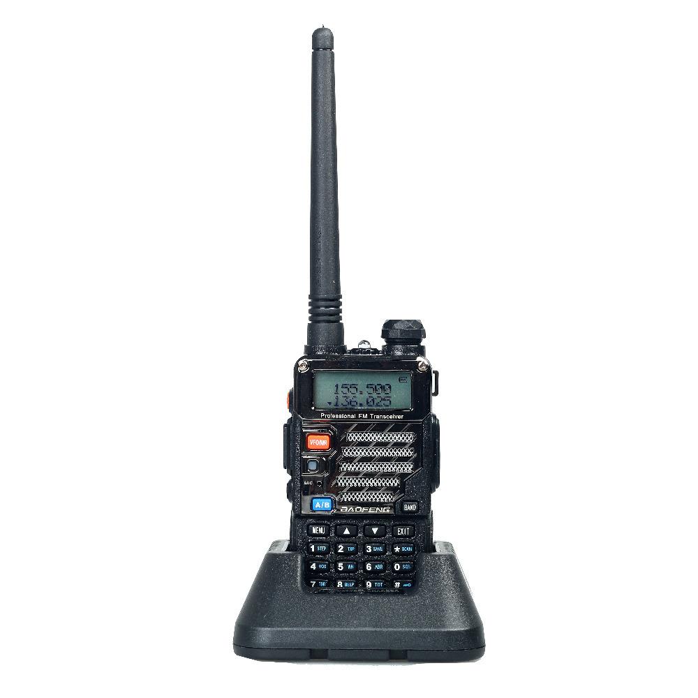 Baofeng UV-5RE Plus Walkie Talkie Dual Band Two Way Radio Pofung UV 5RE 5W 128CH UHF VHF FM VOX Dual Display radio comunicador(China (Mainland))